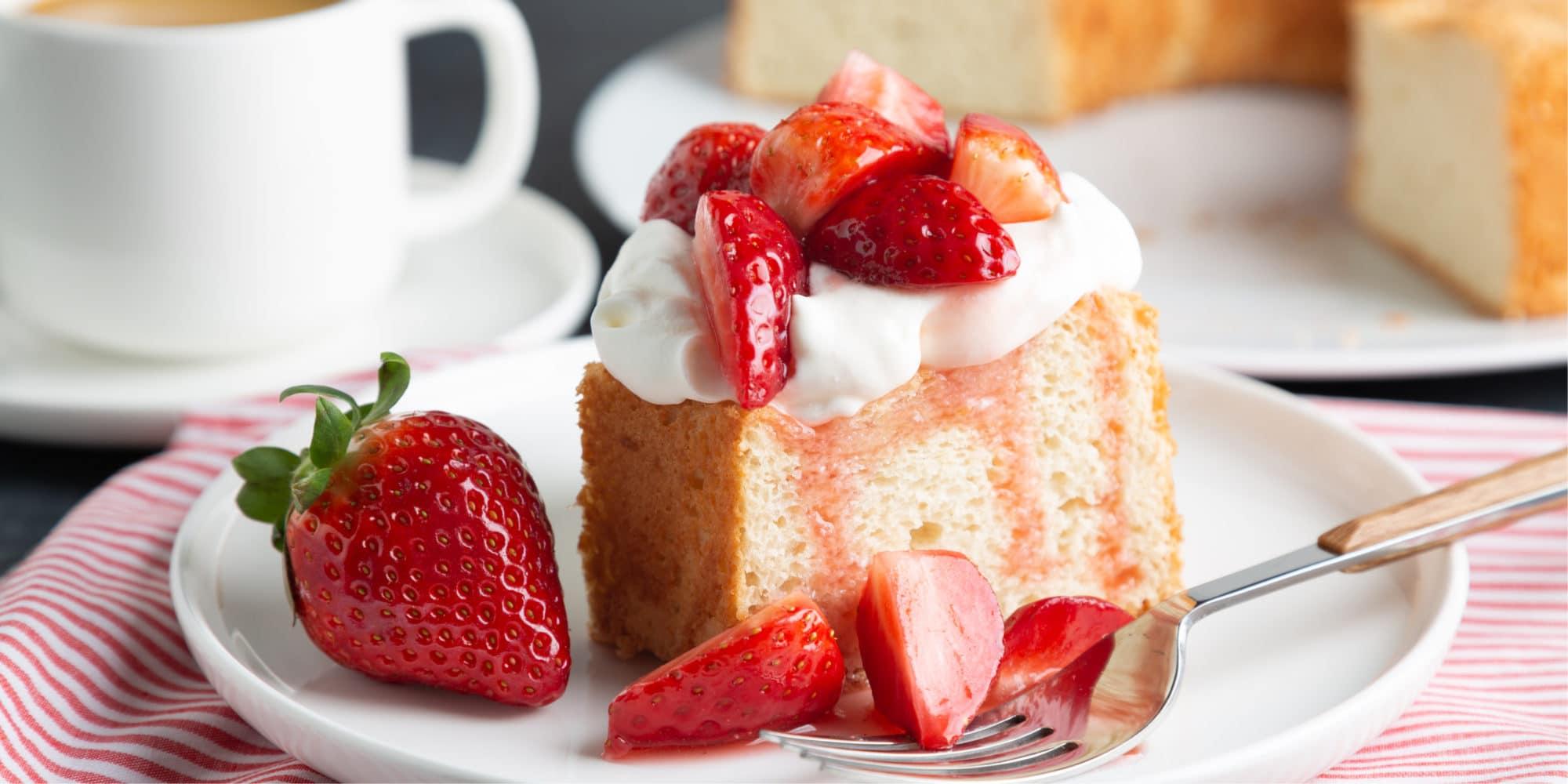 keto strawberry short cake