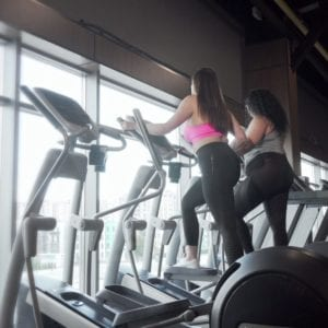 elliptical low intensity steady state cardio workout