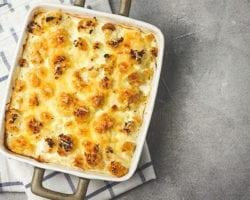 Keto Cauliflower Mac n' Cheese