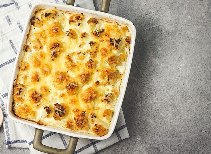 keto cauliflower mac n cheese