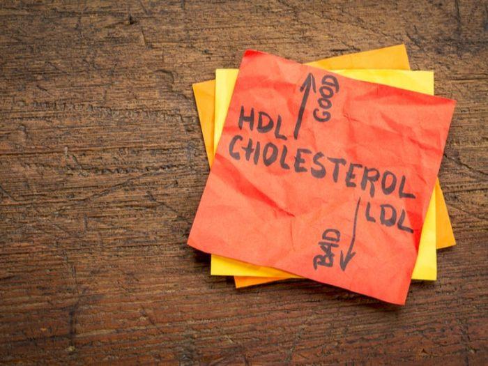 cholesterol benefits