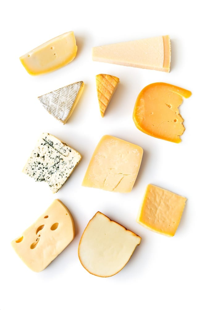 cheese zero carb foods