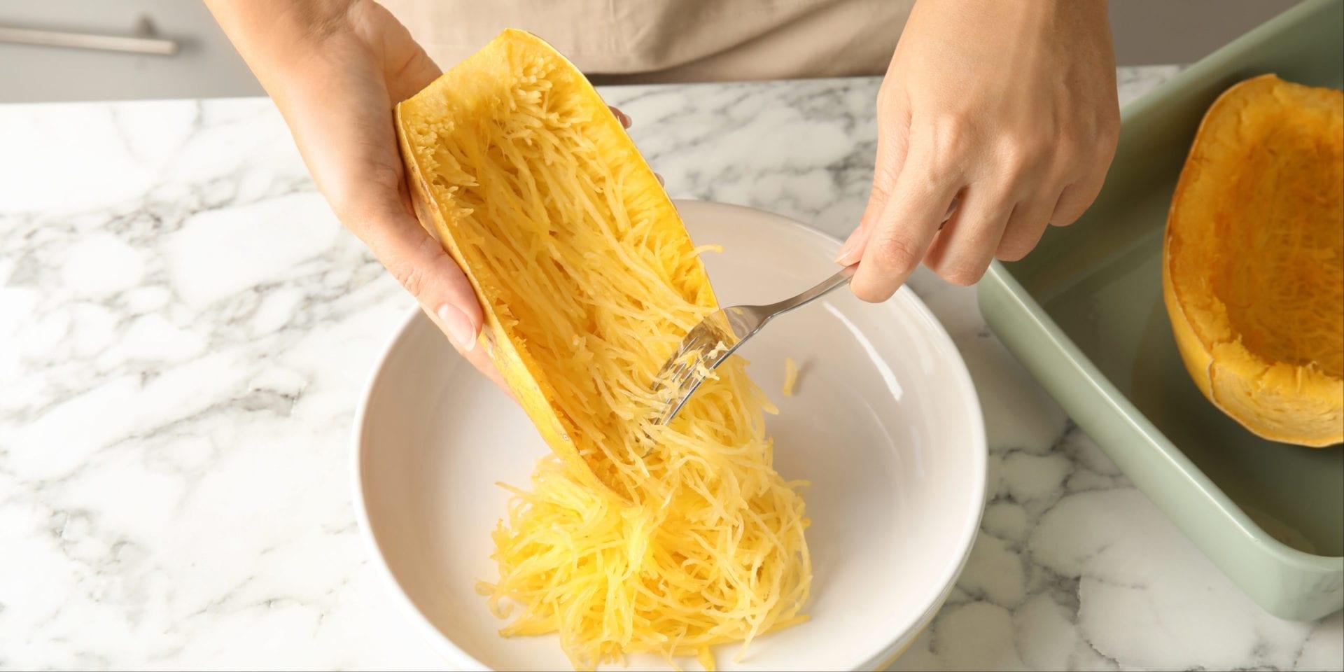 Simple Keto Spaghetti Squash (Oven-Baked)