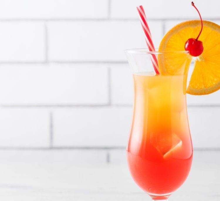 Keto Tequila Sunrise (Easy Keto Cocktail Recipe)