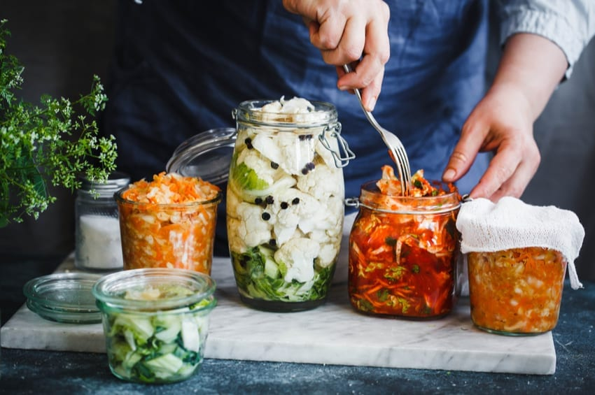 fermented foods on keto