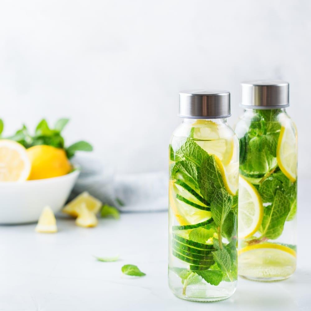 sugar-free drinks infused water