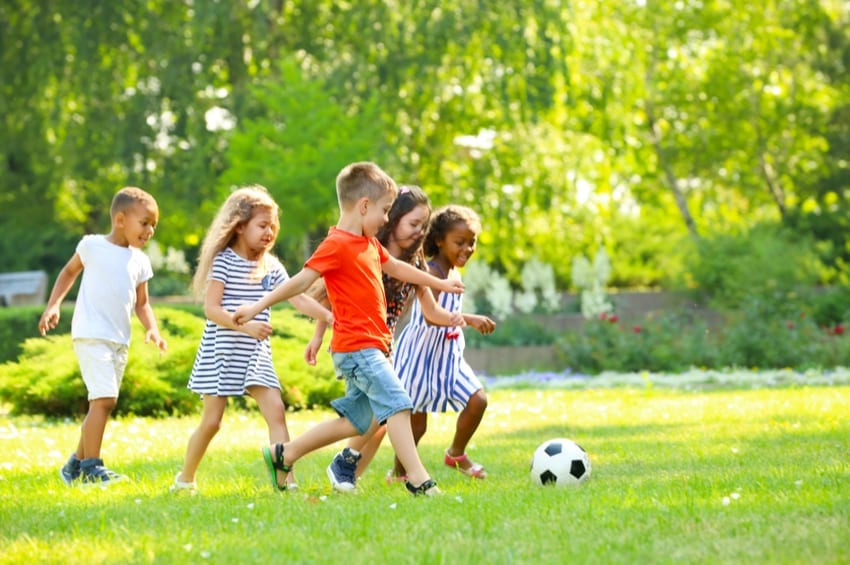 keeping kids active