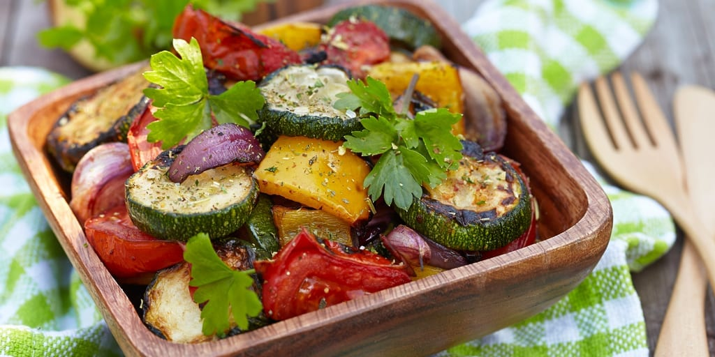 Roasted Low Carb Vegetables