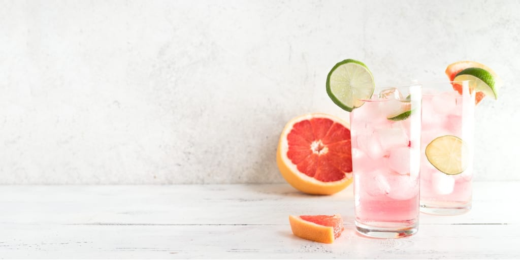 Keto Paloma Grapefruit Cocktail