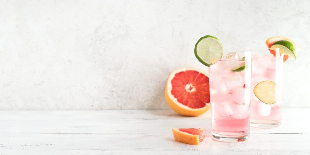 Keto Paloma Grapefruit Cocktail