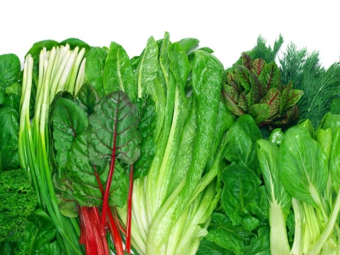 veggies on keto