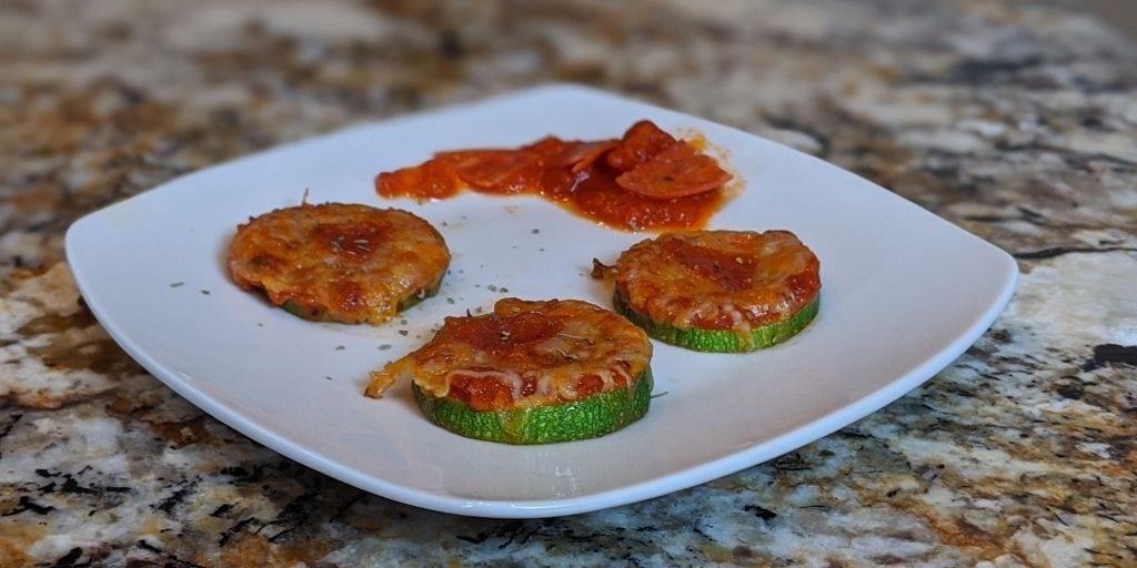 Zucchini Keto Pizza Bites