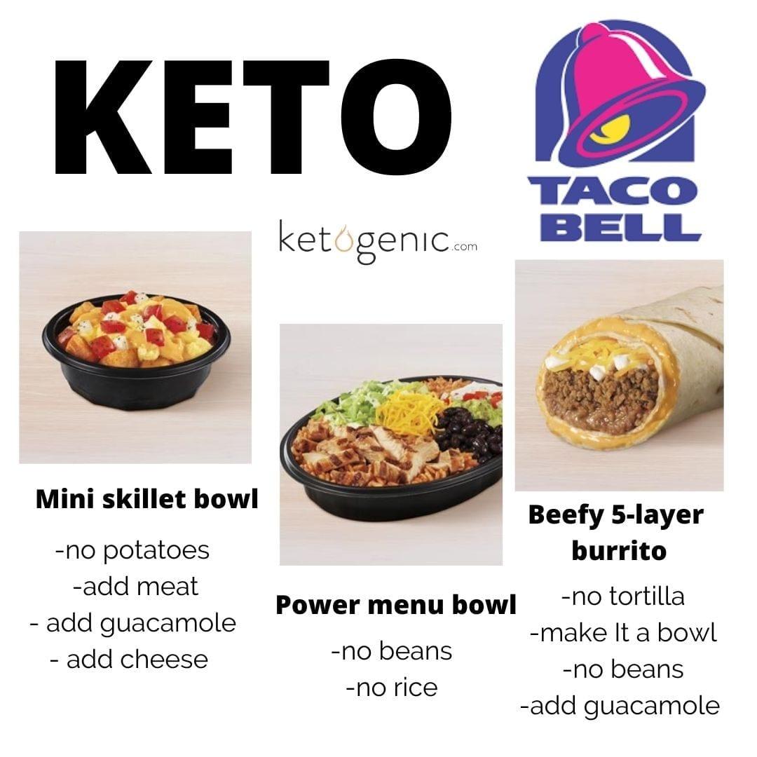 taco bell keto fast food