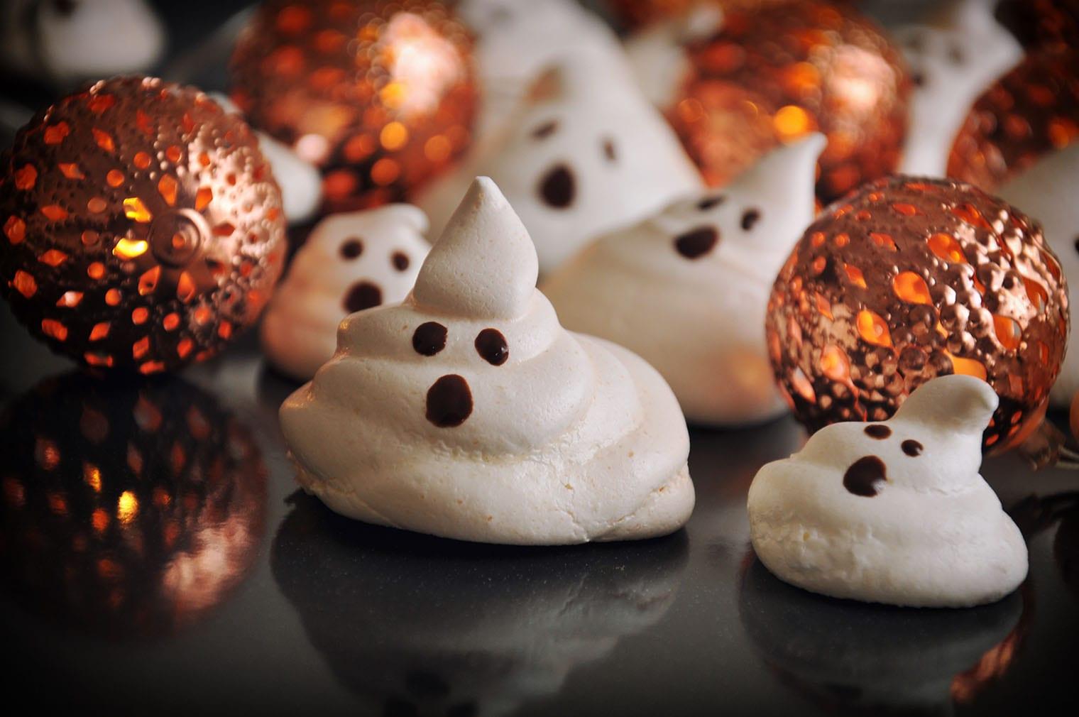Keto Ghost Cookies