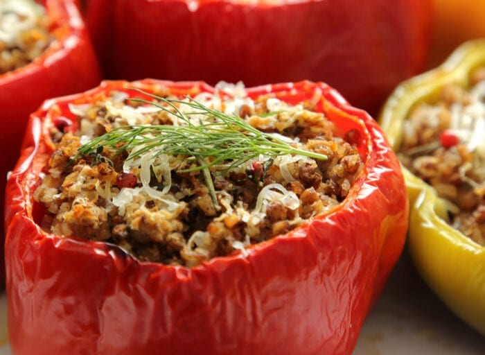 Low-Carb Bell Peppers