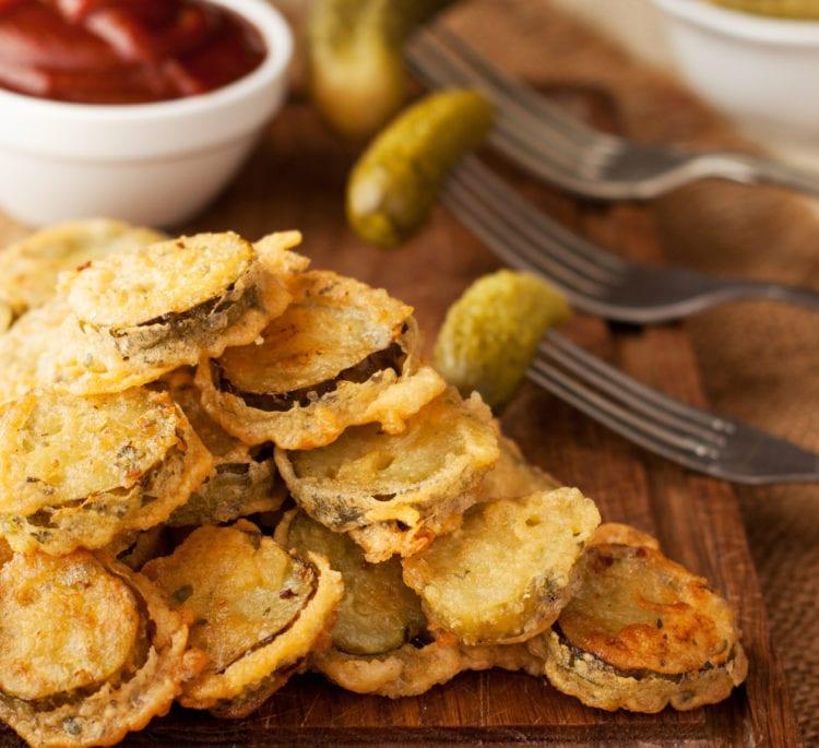 Keto Fried Pickles (Air Fryer Recipe)