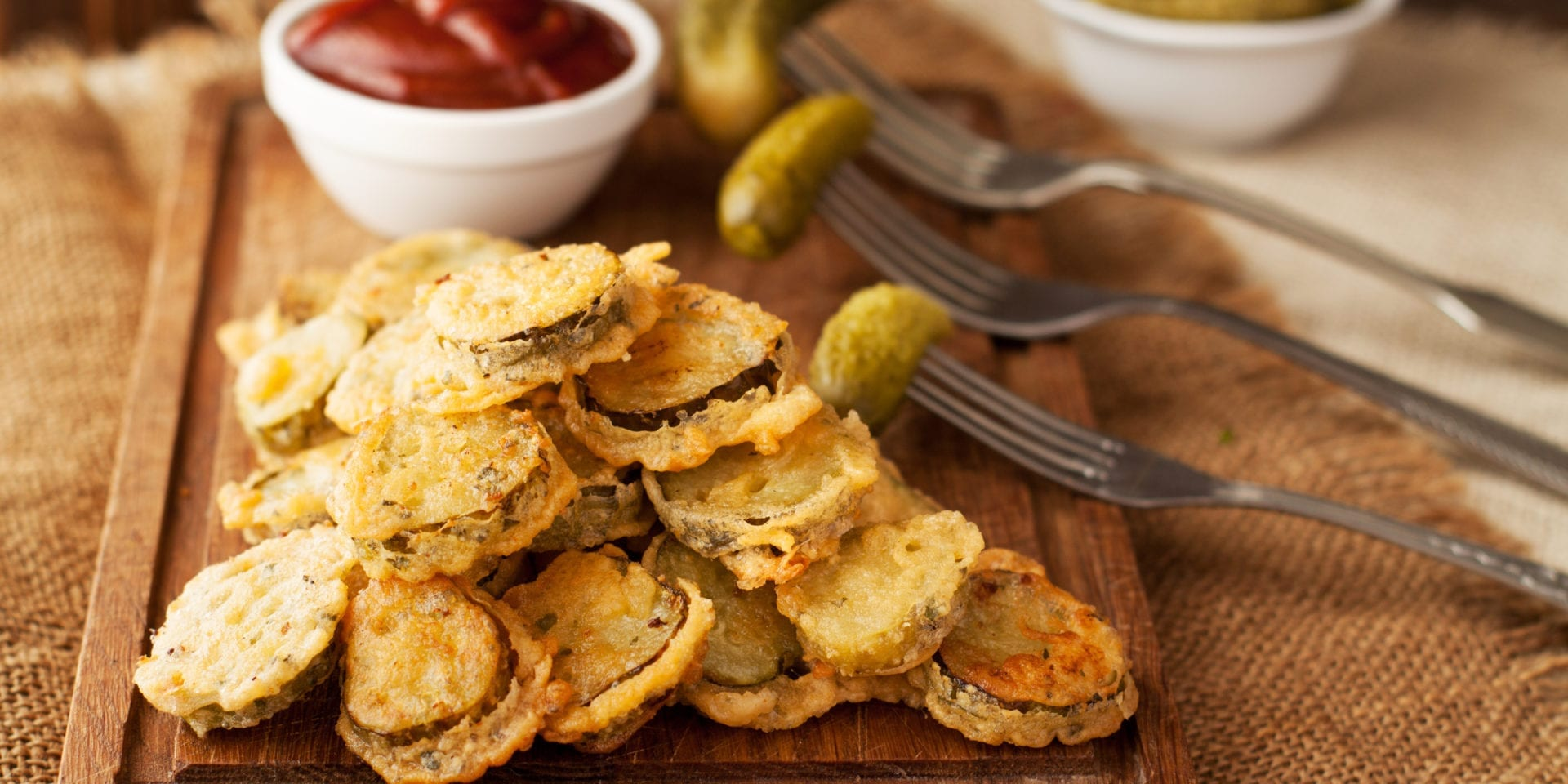 Keto Fried Pickles (Air Fryer Recipe)