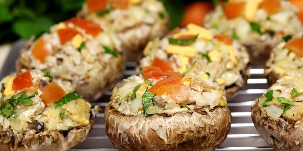 keto stuffed mushrooms