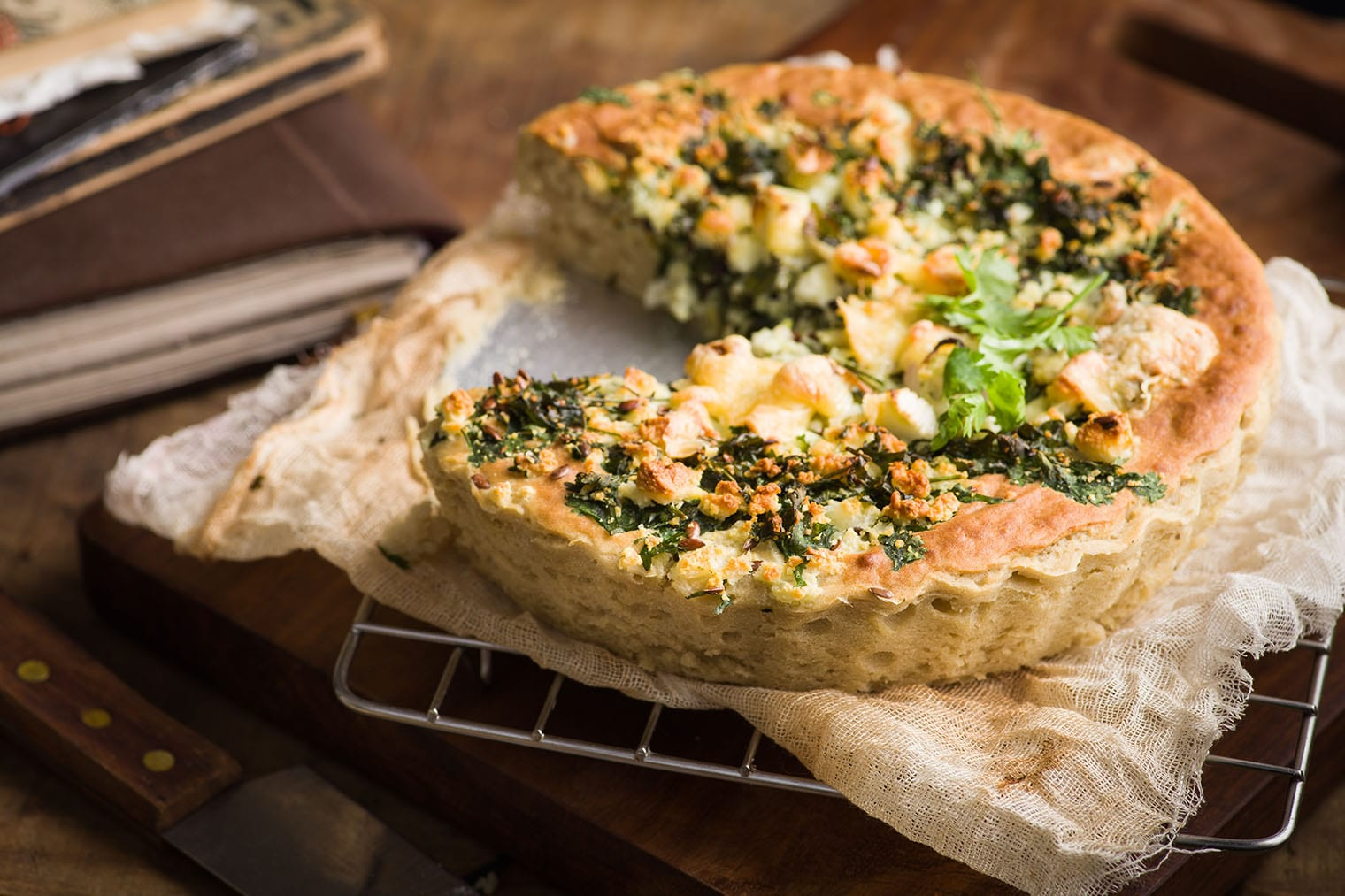 Keto Vegetable Pie