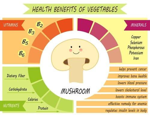 mushrooms on keto