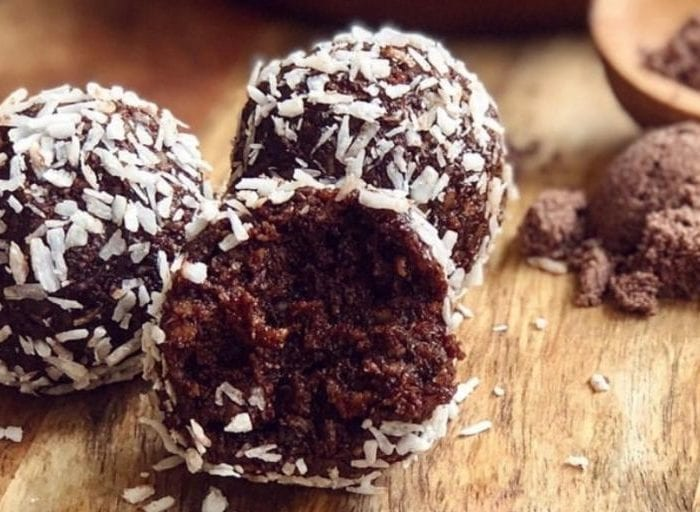 keto chocolate balls