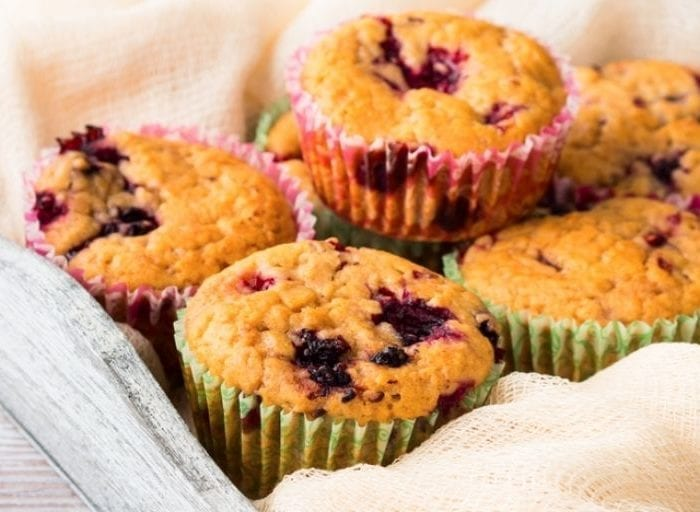 keto blackberry muffins