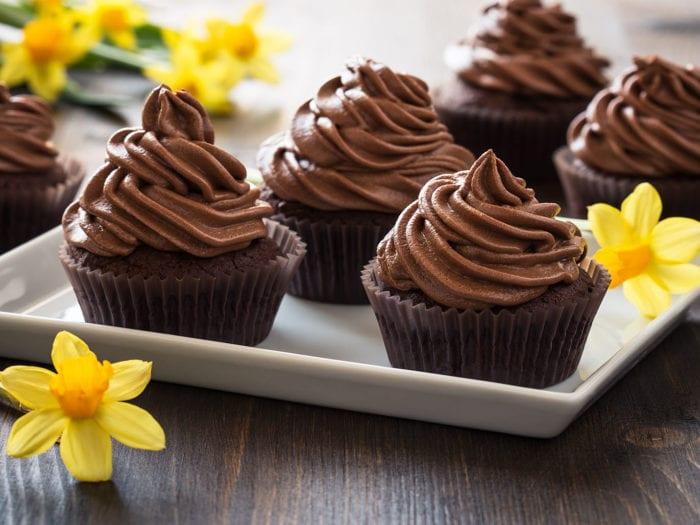 Keto Chocolate Cupcake