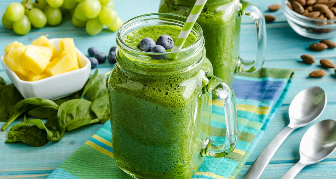 Keto Greens Smoothie- carbs in cucumbers