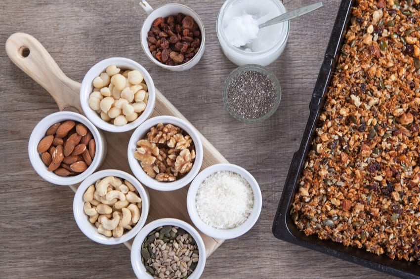 keto nut recipes