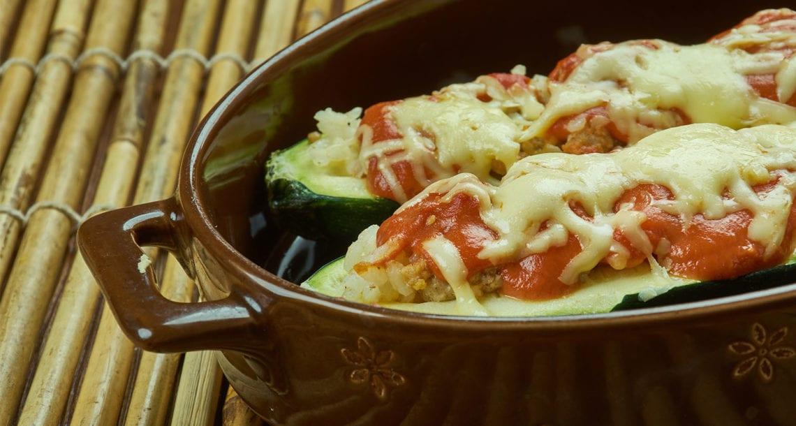 Keto Zucchini Boats