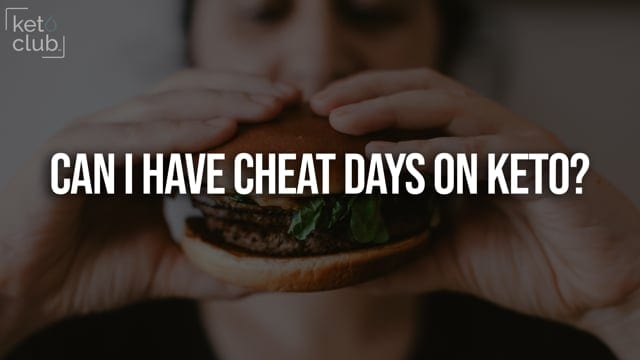 Can I have a cheat day on keto?