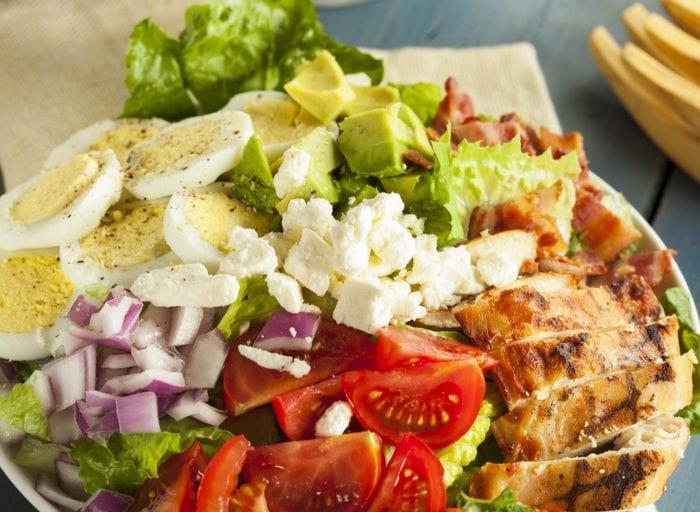keto cobb salad