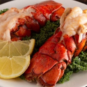 keto lobster tail