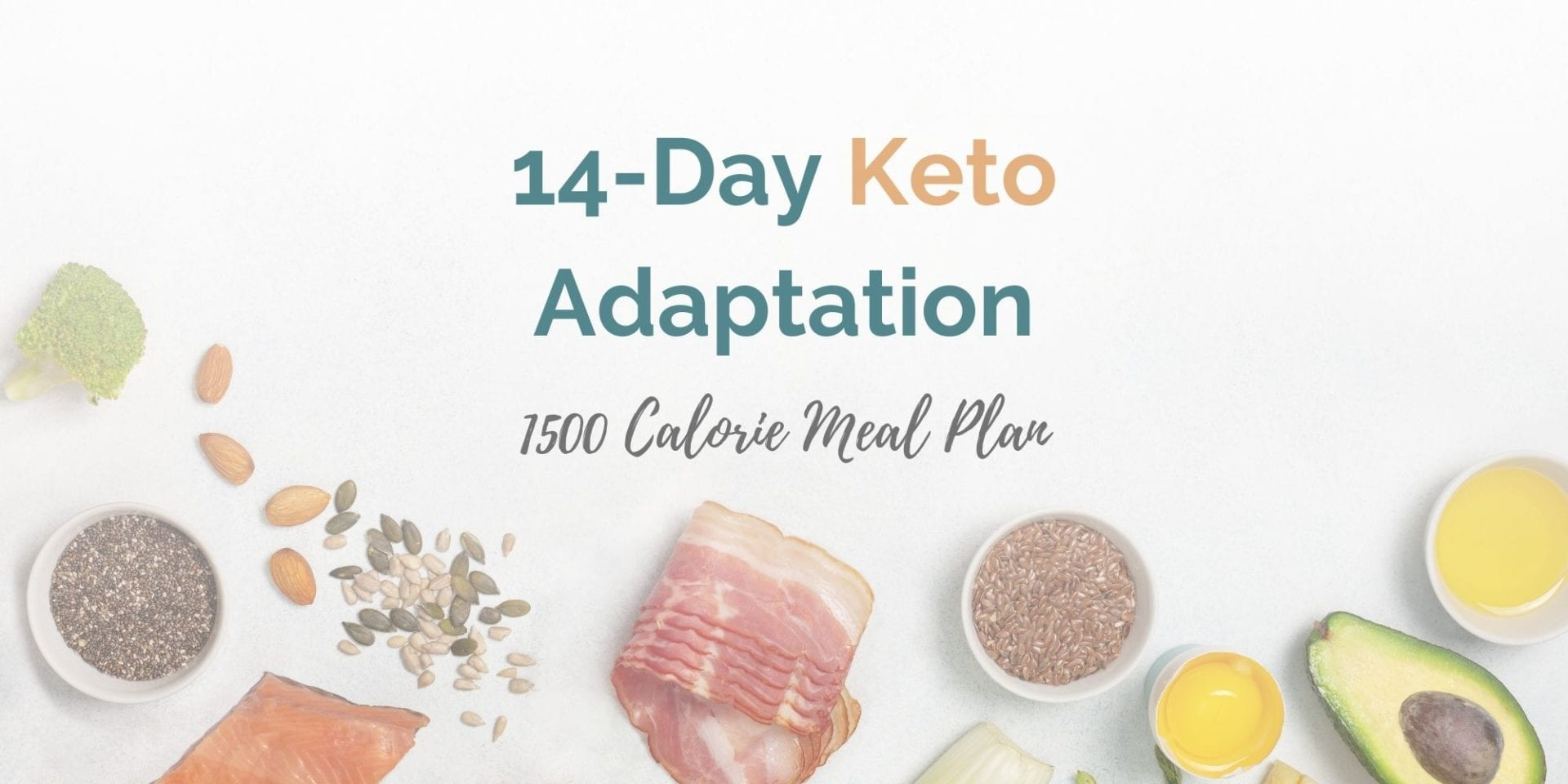 1,500 Calorie 14-Day Adaptation Meal Plan