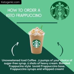 keto at starbucks frappuccino