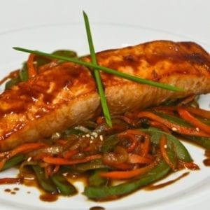 omega 3 food source salmon baked salmon