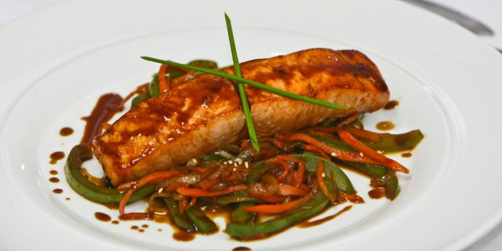 keto baked salmon
