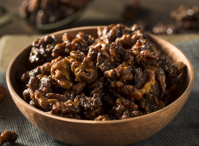 keto candied walnuts