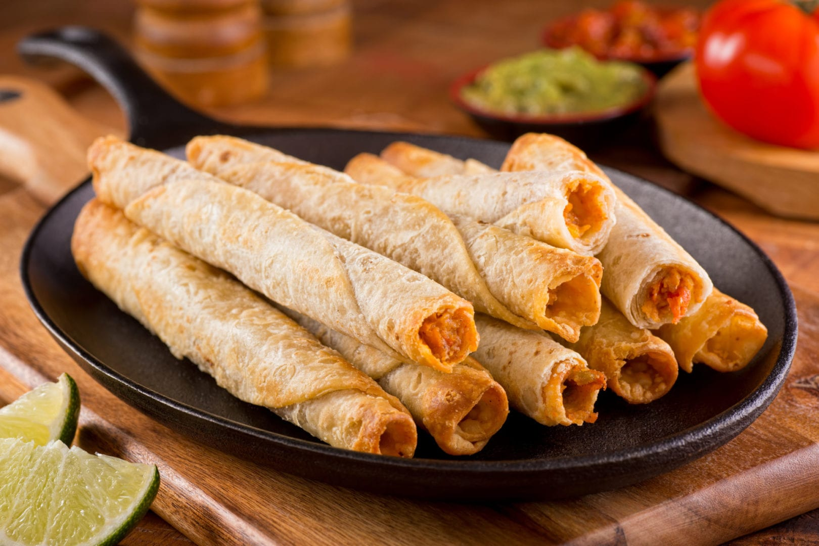 Keto Taquitos from the Air Fryer