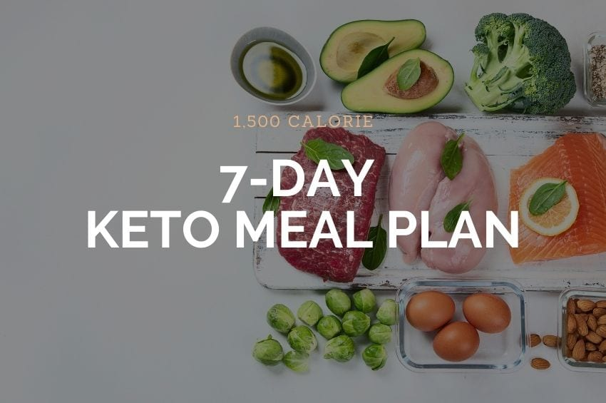 1500 Calorie 7-Day Meal Plan