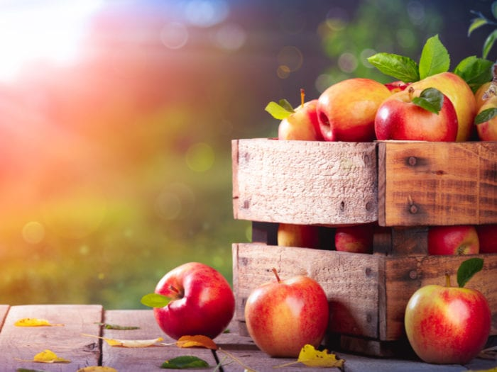are apples keto