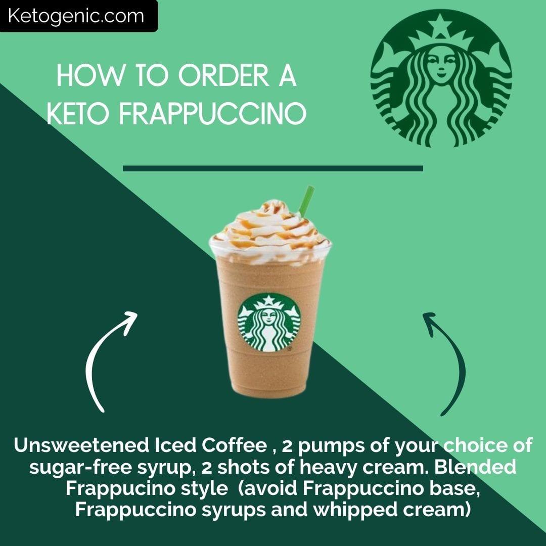 keto frappuccino at starbucks