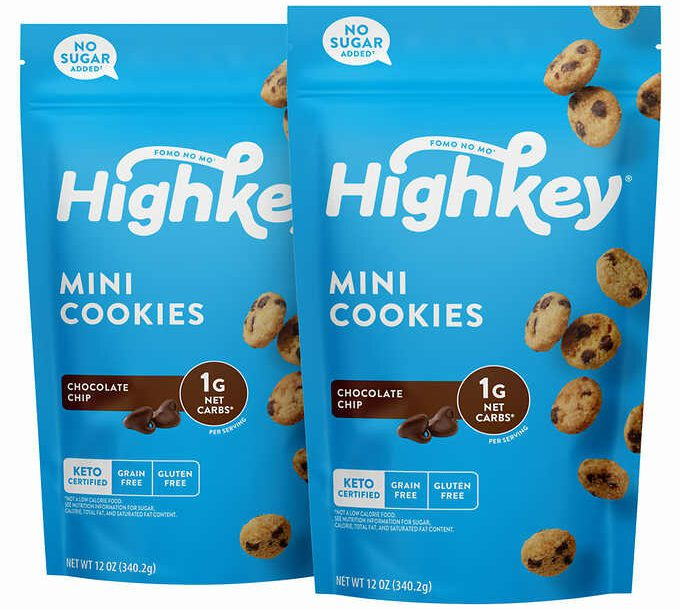 high key mini cookies