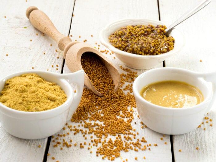 is mustard keto