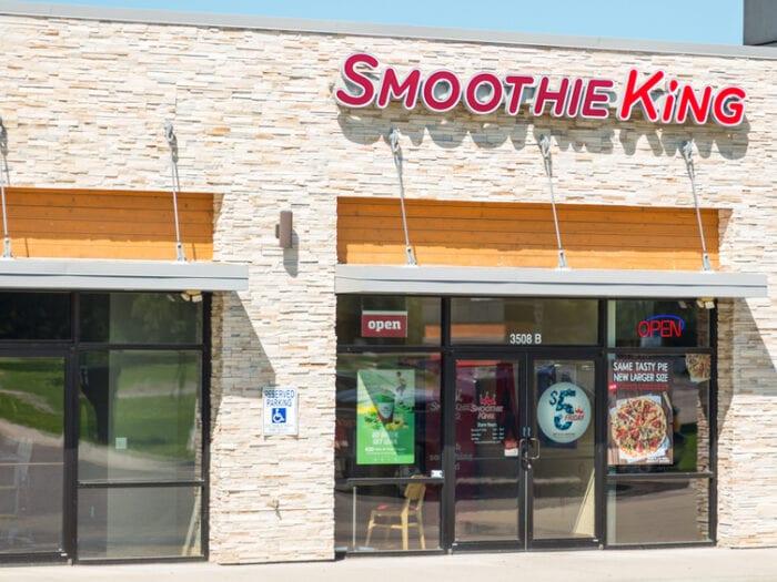 low carb smoothie king