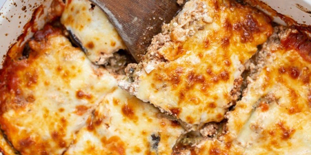 Keto Eggplant Lasagna (Gluten-Free)