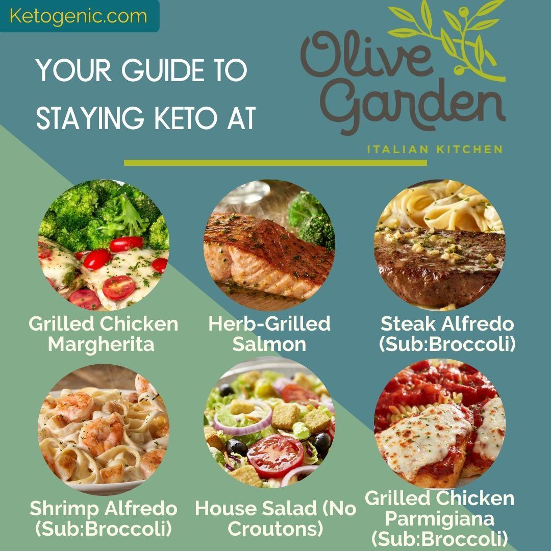 keto at olive garden
