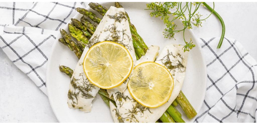 Baked Lemon Sole