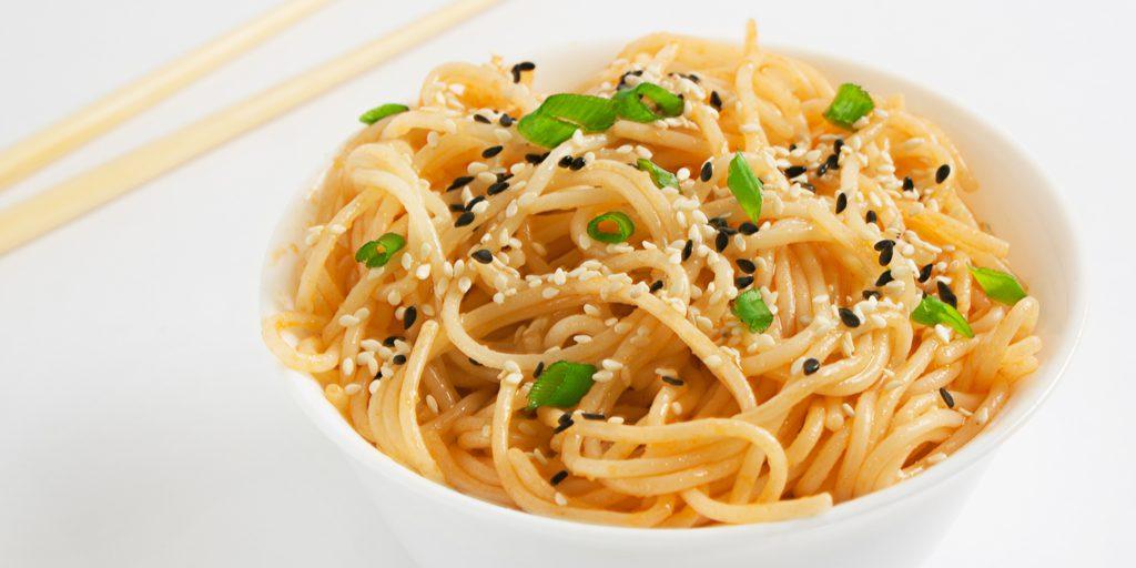 Sesame Shirataki Noodles