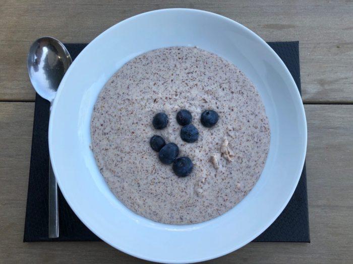 benefits of flax seed- keto porridge